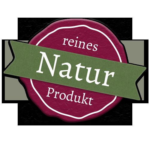 Siegel reines Naturprodukt